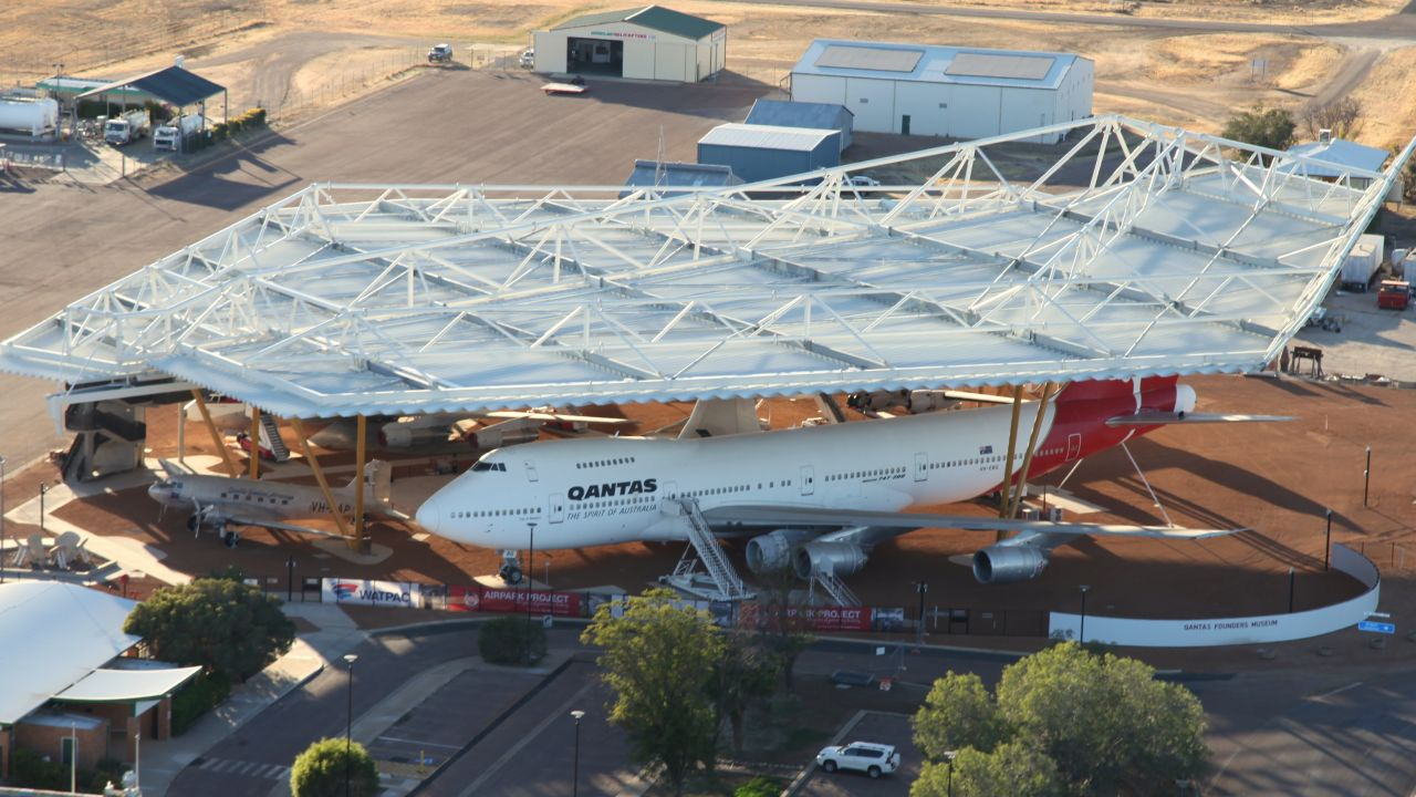 Construction officially underway at Qantas Founders Museum