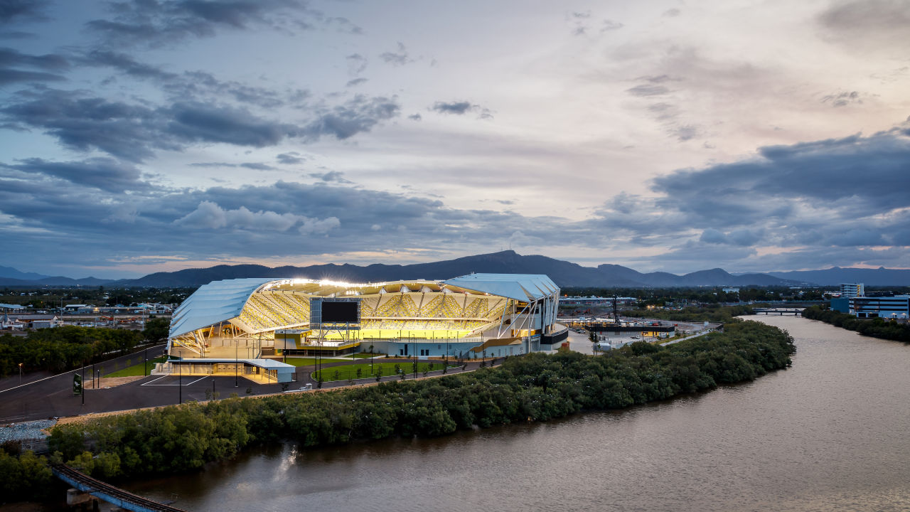 Watpac presents a world-class stadium to North Queensland