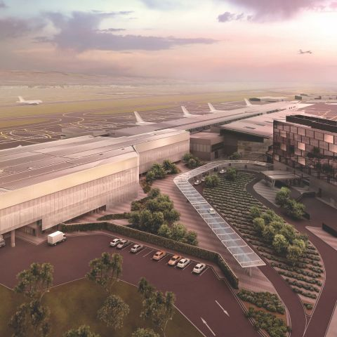 Adelaide Airport Terminal Expansion