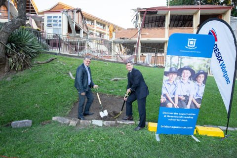 Brisbane Grammar School's STEAM project officially underway