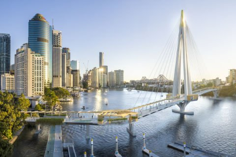 Connect Brisbane shortlisted for Kangaroo Point Green Bridge