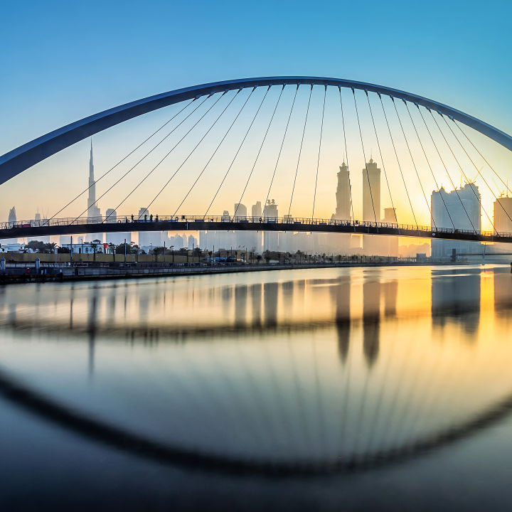 Dubai Water Canal Bridges