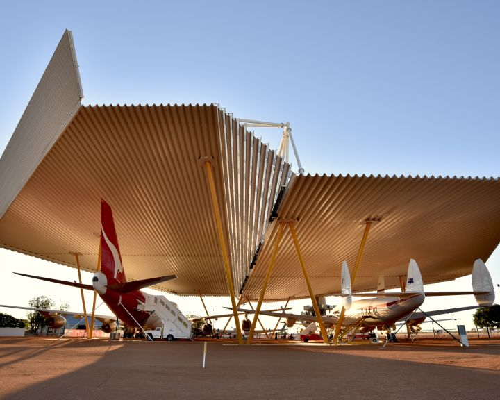 Qantas Founders Museum - Airpark Roof Project
